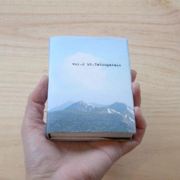 山の豆本写真集、新作2種できました